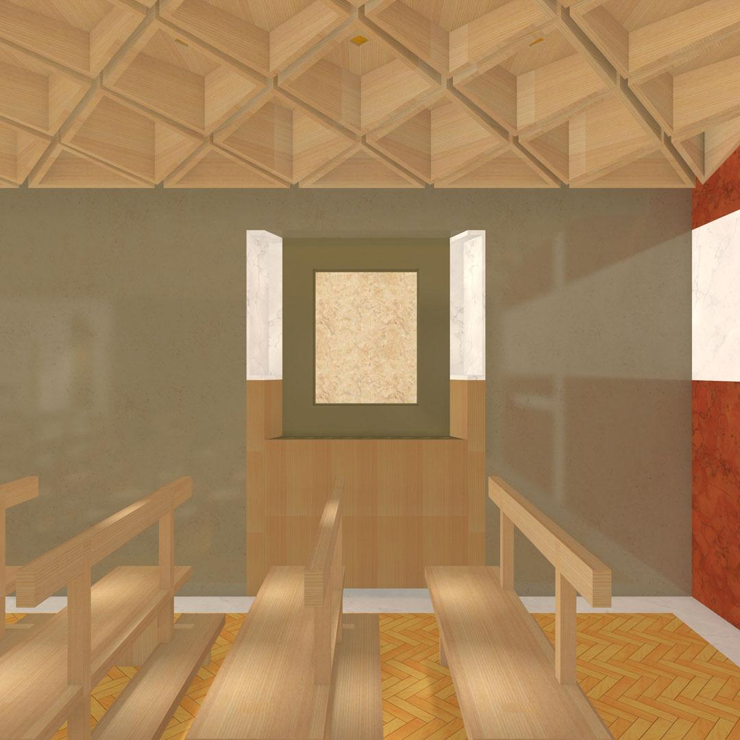 Studio Matteoni Riqualificazione Cappella Ospedale Maria Ceccarini